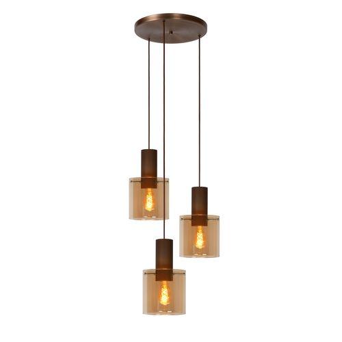 Lucide hanglamp Toledo rond 3xE27