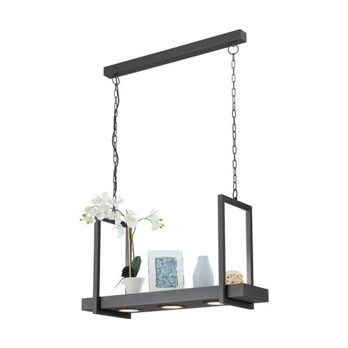 EGLO hanglamp LED Calamona zwart 3