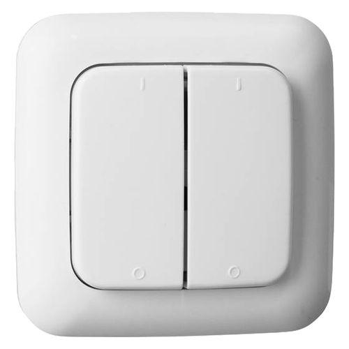 Double interrupteur Smartwares SH5-TSW-B wit