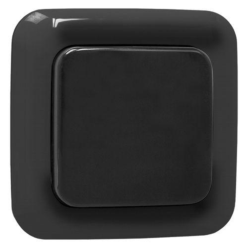 Smartwares wandschakelaar SH5-TWC-C zwart