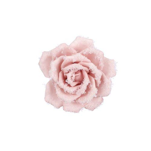 Clip Rose rose - 5x14cm
