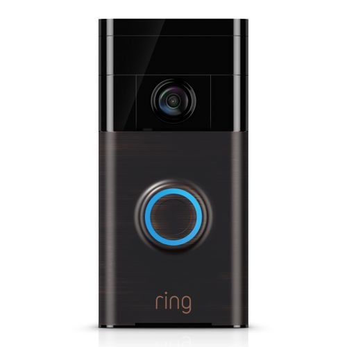 Ring video deurbel venetian Bronze