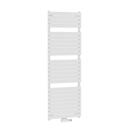 Radiateur sèche-serviettes Henrad Venice blanc 60x151,1cm