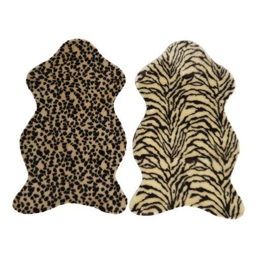 Tapis animalier Decoris brun 50x90cm 1pièce