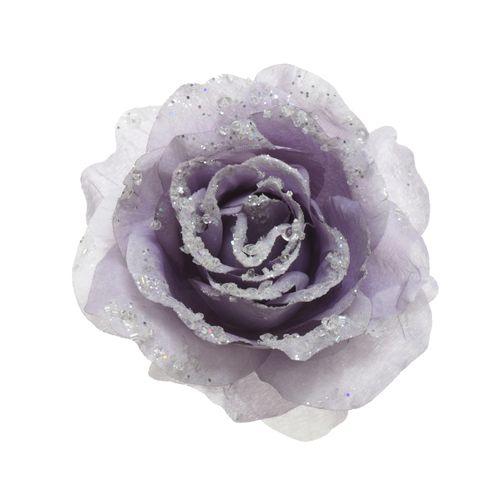 Clip Roos lila 14cm