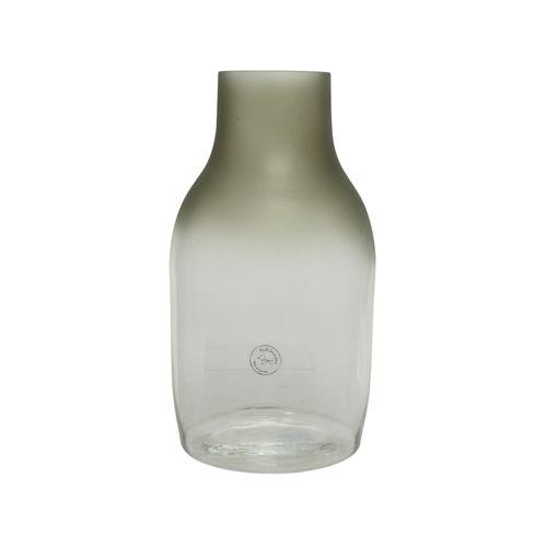 Vase ovale Decoris clair givré 35cm