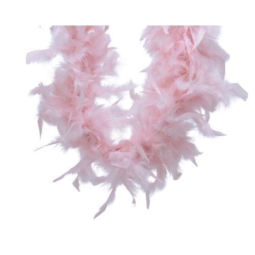 Guirlande boa Decoris rose 150cm