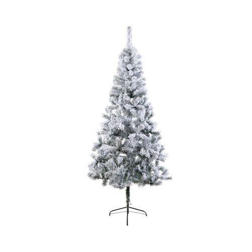 Kerstboom snowy groen 210cm