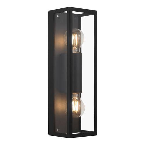 EGLO wandlamp Amezola zwart 2xE27