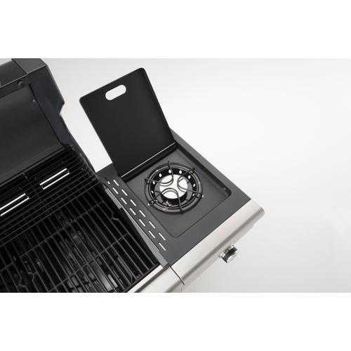 Landmann gasbarbecue Triton PTS2.1 zilver 10kW