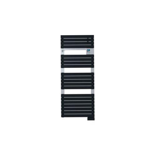 Radiateur sèche-serviettes + ventilateur Sauter Asama gris anthracite 1750W