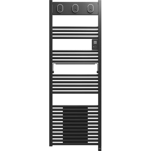 Radiateur sèche-serviettes + ventilateur Sauter Marapi gris anthracite 1750W