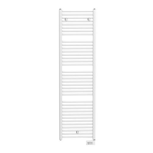 Radiateur sèche-serviettes Henrad Oceanus E blanc 1000W 58,5x176,3cm