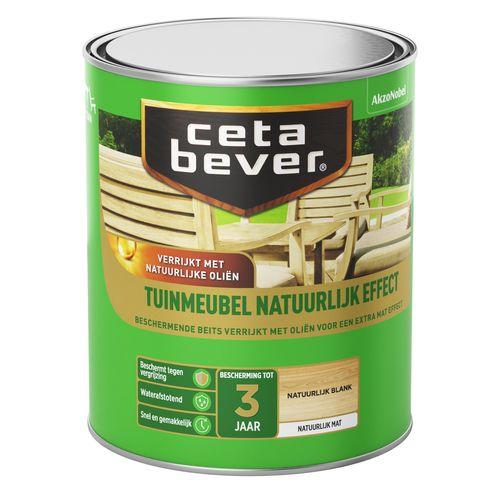 CetaBever tuinmeubelbeits natuurlijk effect eiken 750ml