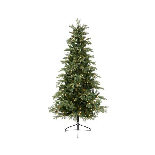 Kerstboom micro LED-lampjes warm wit 180cm