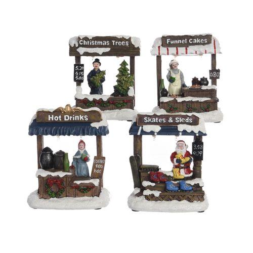 Figurine de Noël Stand de vente 13cm
