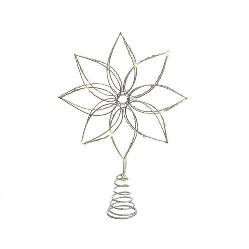 Pic avec Micro-LED blanc chaud 27cm
