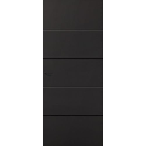CanDo Capital binnendeur Providence zwart stomp rechts 83x201,5 cm