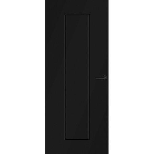 CanDo Capital binnendeur Quito zwart opdek links 83x231,5 cm