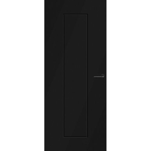CanDo Capital binnendeur Quito zwart opdek links 93x231,5 cm