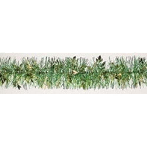 Guirlande de Noël champagne/vert 2 mètres