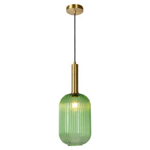 Lucide hanglamp Maloto groen Ø20cm E27