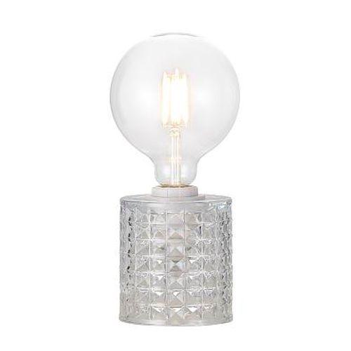 Nordlux lampe de table Hollywood transparent noir E27