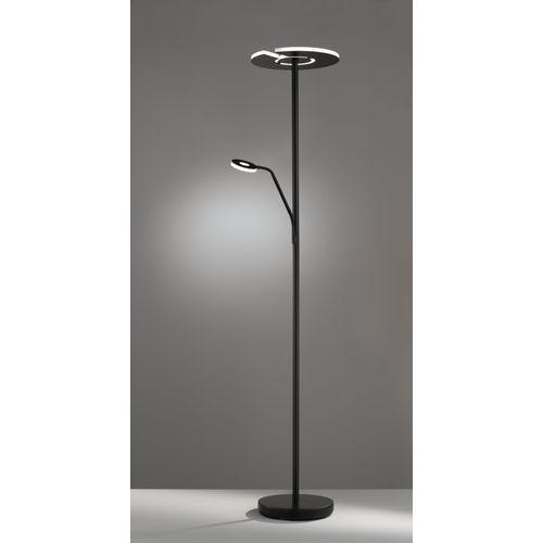 Fischer & Honsel vloerlamp LED Dent zwart 6W 30W