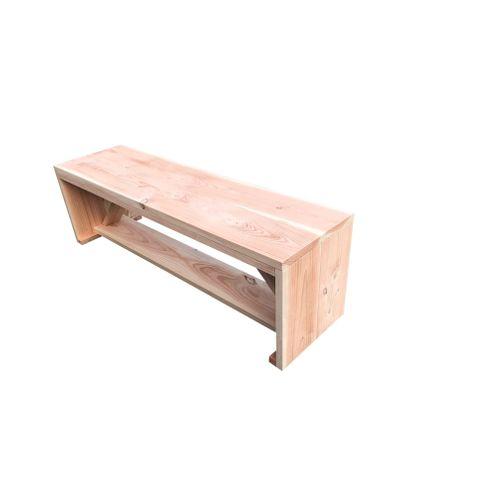 Banc de jardin Wood4you Nick Douglas en bois 160x38x43cm