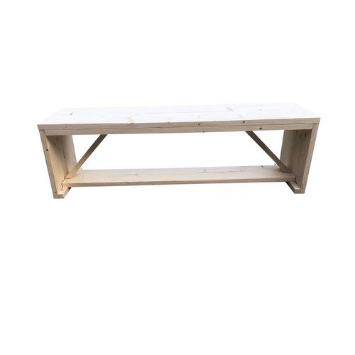 Wood4you tuinbank Nick vurenhout 120x43x38cm