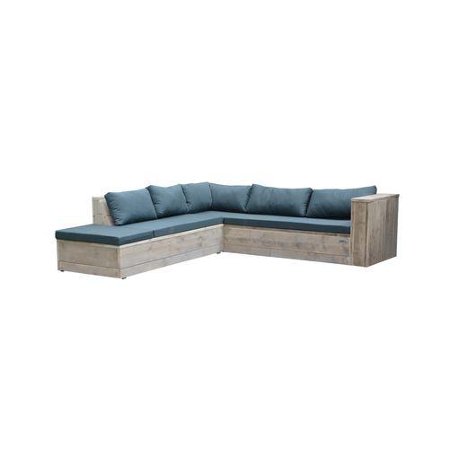 Wood4you loungeset Seven steigerhout 250x200x70cm