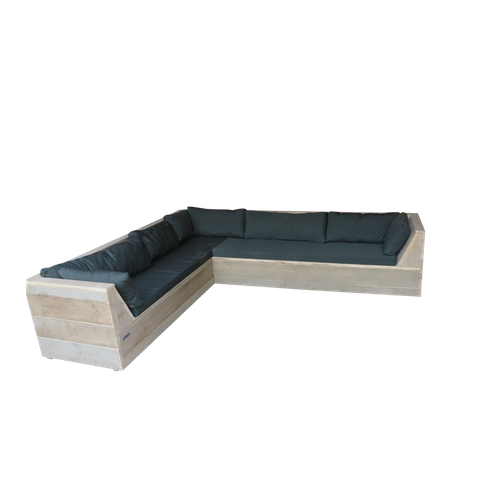 Wood4you loungebank Six Steigerhout 200Lx220Dx70Hcm