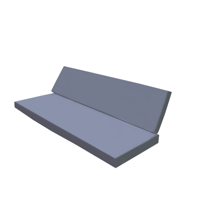 Fauteuil lounge Wood4you One bois douglas 250x220x70cm (L inversé)