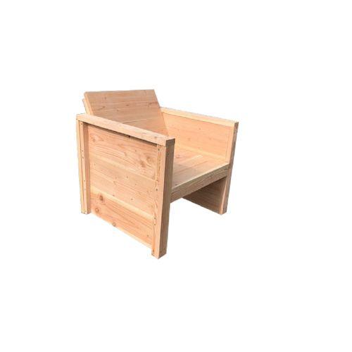 Wood4you Vlieland tuinstoel Douglas hout bouwpakket