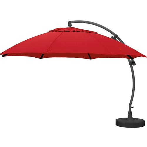 Sungarden parasol Easy Sun XL bordeaux + voet