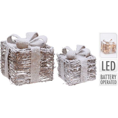 Set cadeau avec LED 2 pièces