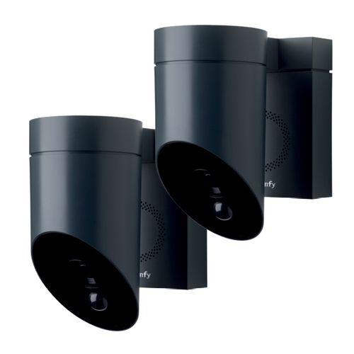Caméra Extérieure Somfy Pack Duo Gris