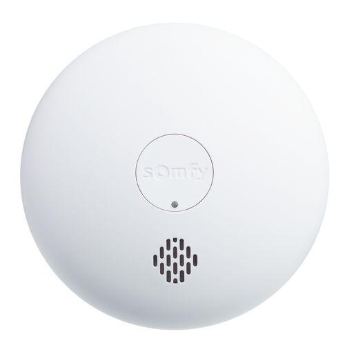 Détecteur de fumée SOMFY Protect sans fil blanc