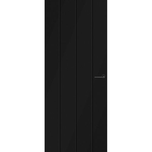 CanDo Capital binnendeur Tallin zwart opdek links 73x201,5 cm