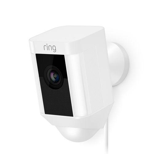 Ring bewakingscamera Spotlight bedraad wit