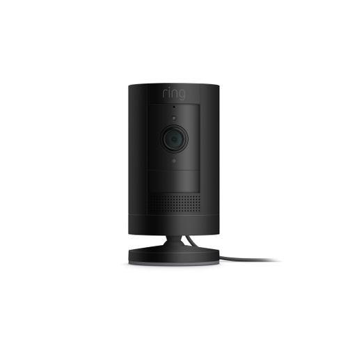 Ring slimme bewakingscamera Stick-up Cam plug-in zwart