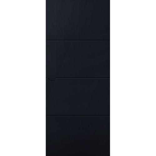 CanDo Capital binnendeur Concord zwart stomp rechts 83x211,5 cm
