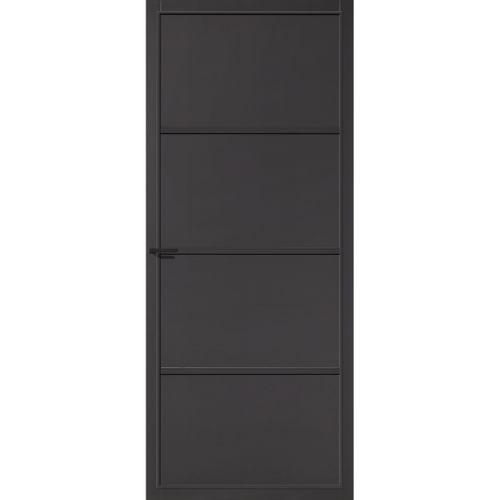 CanDo Capital binnendeur Sheffield zwart opdek rechts 93x211,5 cm