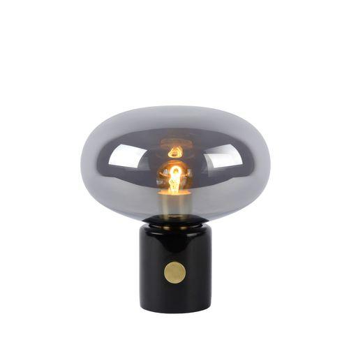 Lucide tafellamp Charlize zwart E27