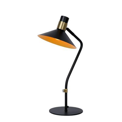 Lucide tafellamp Pepijn zwart E15