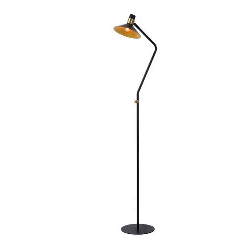 Lucide vloerlamp Pepijn zwart E14