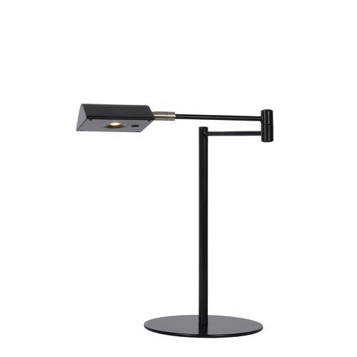 Lucide bureaulamp LED Nuvola zwart 3W