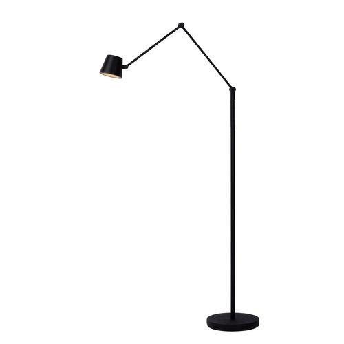 Lucide vloerlamp LED Jorius zwart 8W