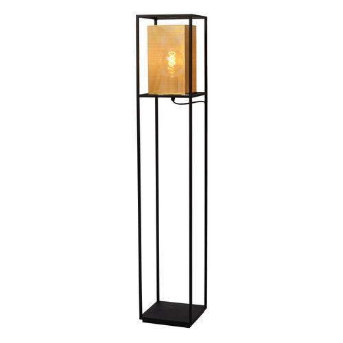 Lucide vloerlamp Sansa zwart E27