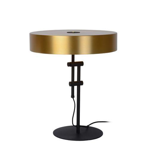 Lucide tafellamp Giada goud messing E27